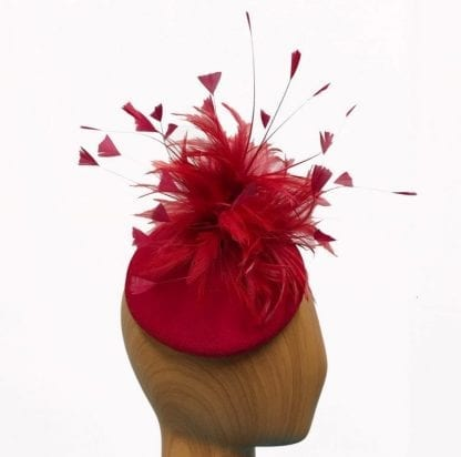 red feather pillbox