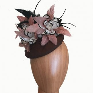 small brown wool hat