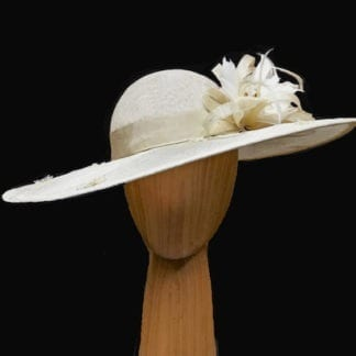 natural cream colored Hat